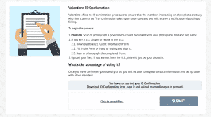 Valentime Verification